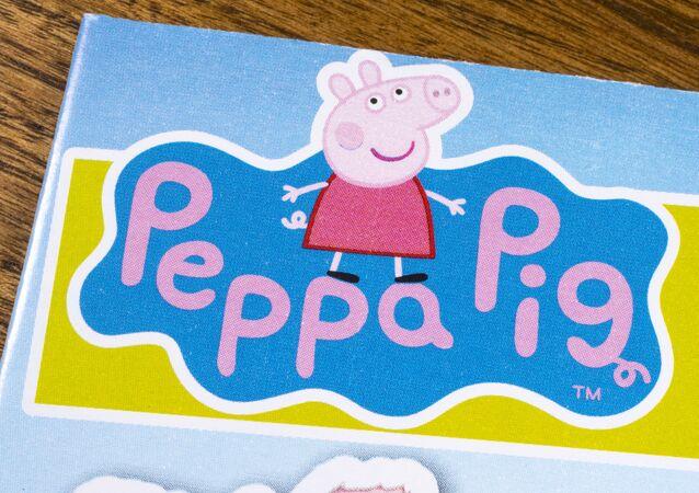 Wizerunek postaci z serialu animowanego Świnka Peppa