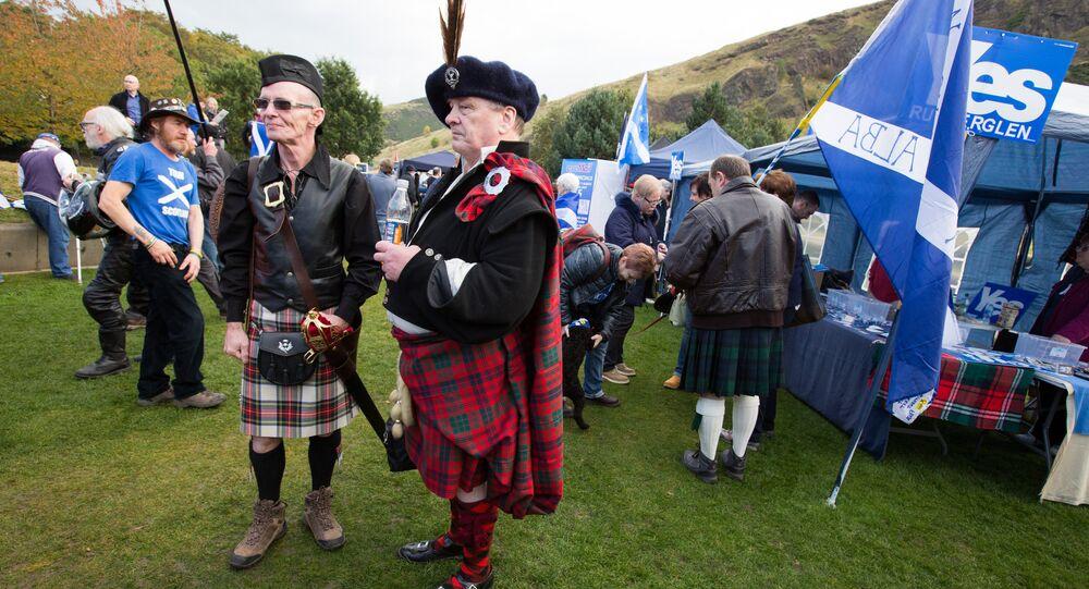 Marsz w walce o szkocką niepodległość, Edynburg