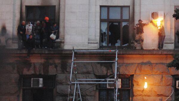 Starcia w Odessie 2 maja 2014 roku - Sputnik Polska