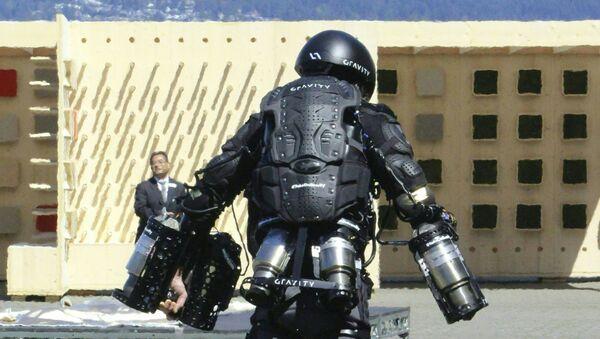 Iron Man i człowiek-rakieta Richard Browning w kostiumie odrzutowym - Sputnik Polska