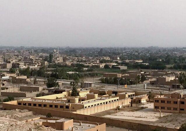Dzielnica Dżafra w Dajr az-Zaur. Zdjęcie archiwalne