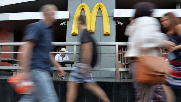 McDonalds w Moskwie - Sputnik Polska