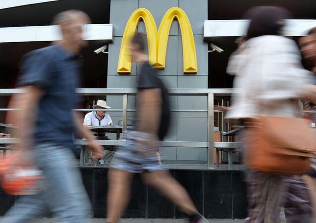 McDonalds w Moskwie