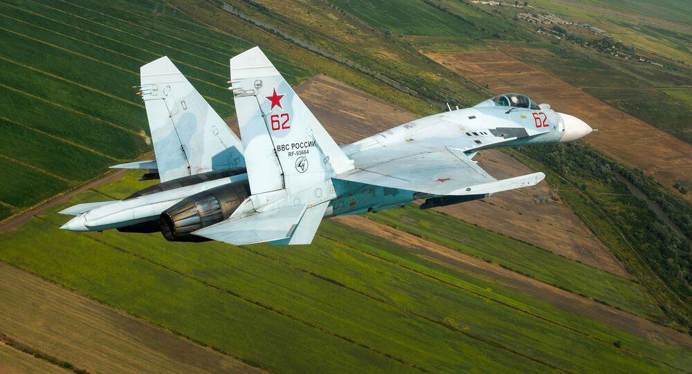 Rosyjski myśliwiec wielozadaniowy Su-27