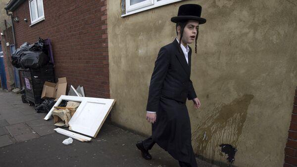 Dzielnica Stamford Hill na północy Londynu - Sputnik Polska