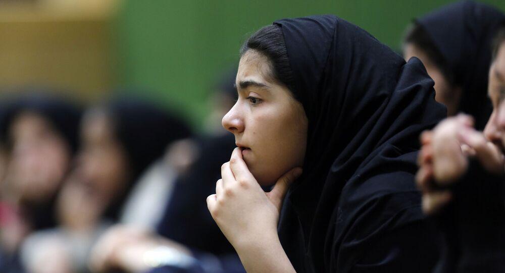Irańskie uczennice