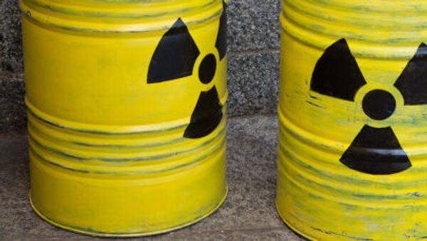 Odpady promieniotwórcze - Sputnik Polska