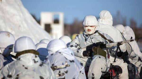 Rosyjskie oddziały wojskowe w Arktyce - Sputnik Polska