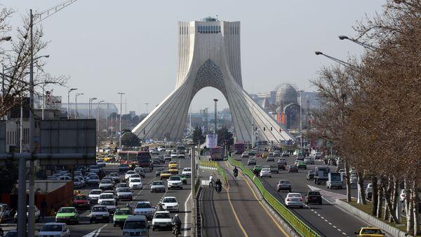 Widok na Teheran - Sputnik Polska