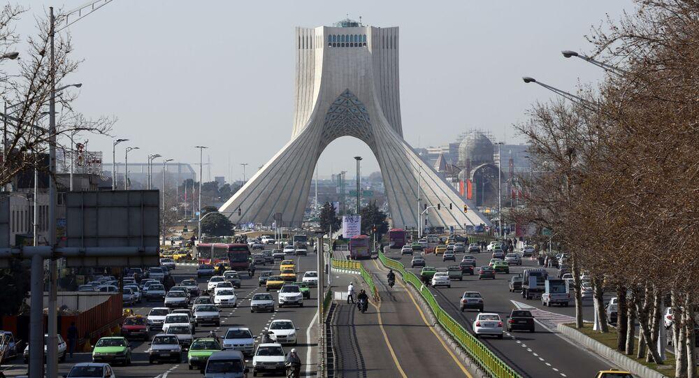 Widok na Teheran