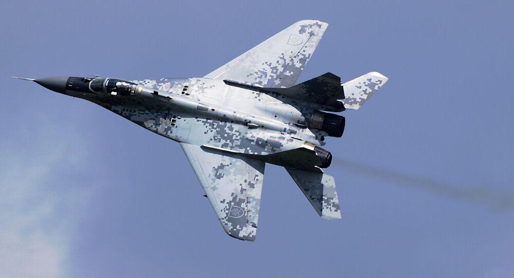 Myśliwiec MiG-29AS słowackiej armii