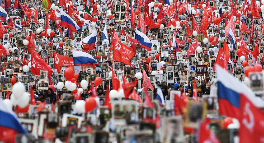 Nieśmiertelny Pułk w Moskwie