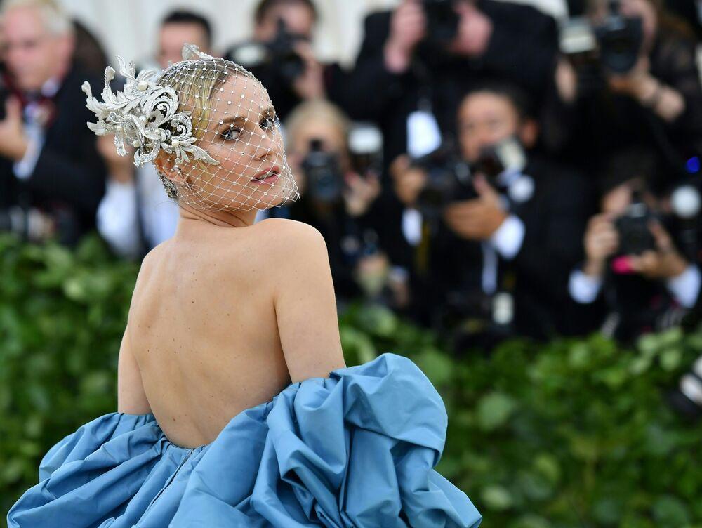 Aktorka Diane Kruger na otwarciu Met Gala 2018