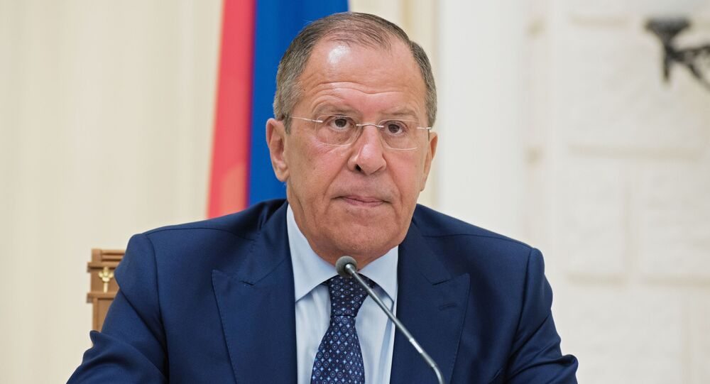 Minister Spraw Zagranicznych Federacji Rosyjskiej Siergiej Ławrow
