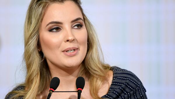 Pierwsza dama Brazylii Marcela Temer - Sputnik Polska