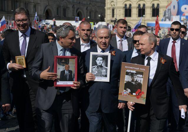 Nieśmiertelny Pułk 2018 w Moskwie
