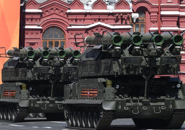 Buk-M2 na Paradzie Zwycięstwa