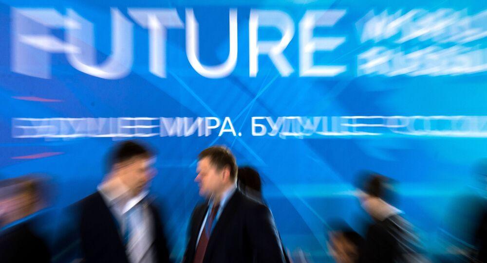 Uczestnicy Jałtańskiego Międzynarodowego Forum Ekonomicznego na Krymie