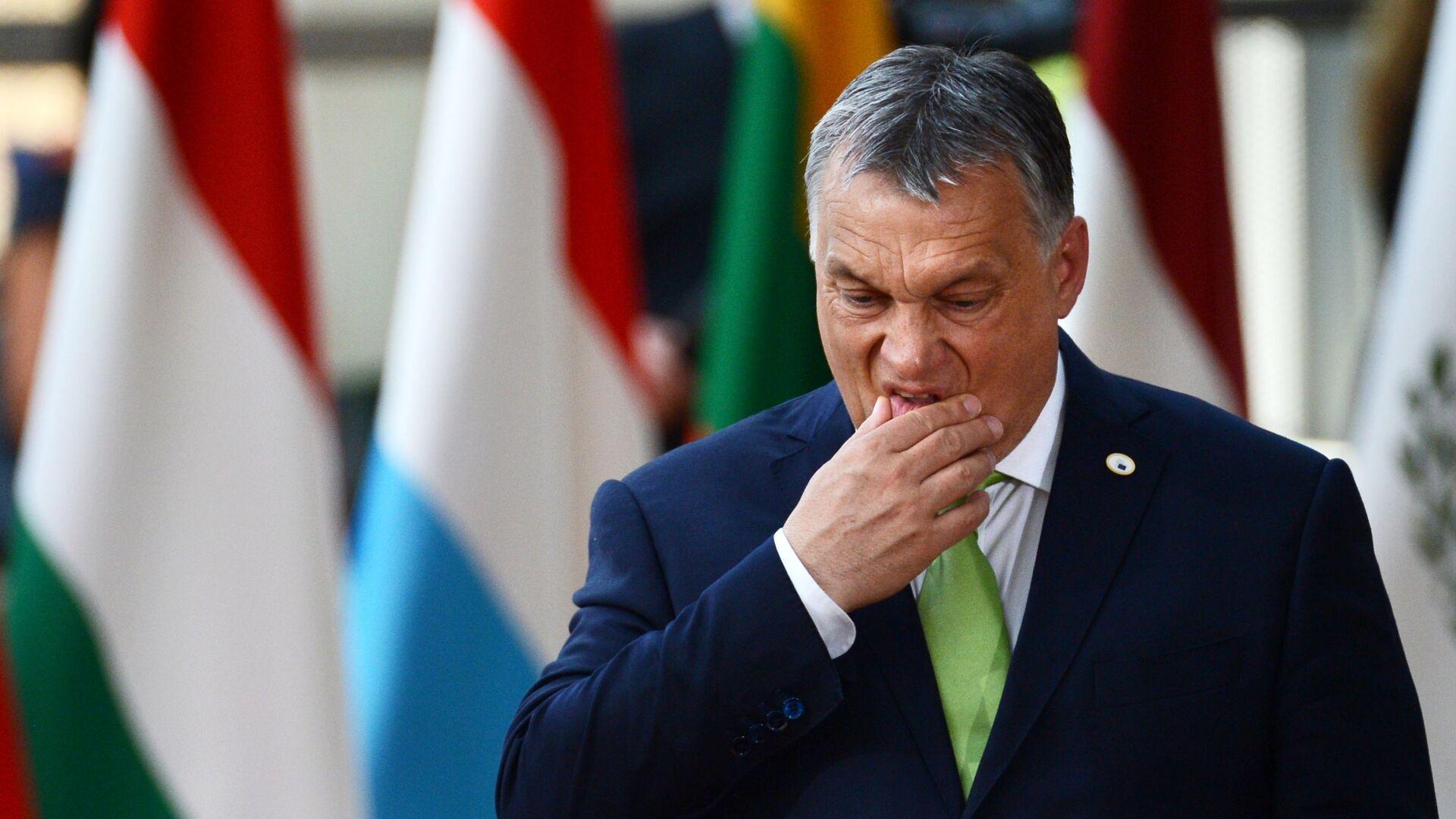 Premier Węgier Viktor Orban - Sputnik Polska, 1920, 18.07.2021