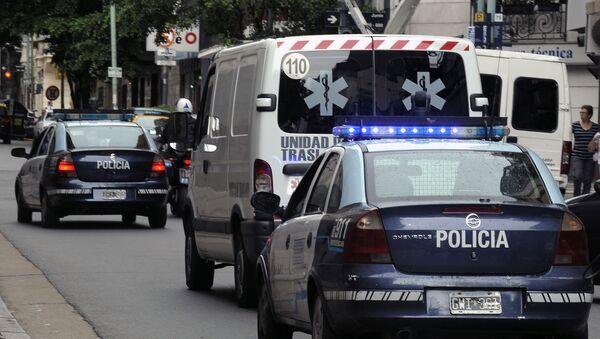 Radiowozy policyjne i karetki pogotowia w Argentynie - Sputnik Polska