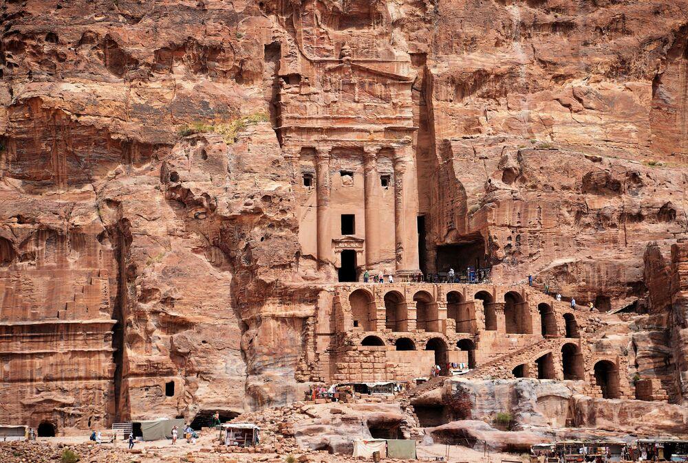 Starożytne miasto Petra w Jordanii