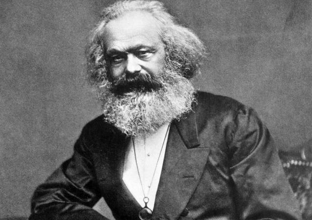 Portret Karla Marksa