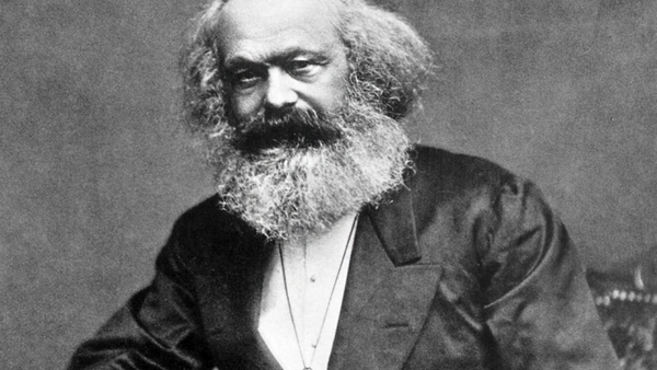 Portret Karla Marksa - Sputnik Polska
