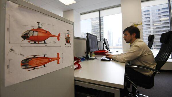 Projekt bezzałogowego śmigłowca - Sputnik Polska