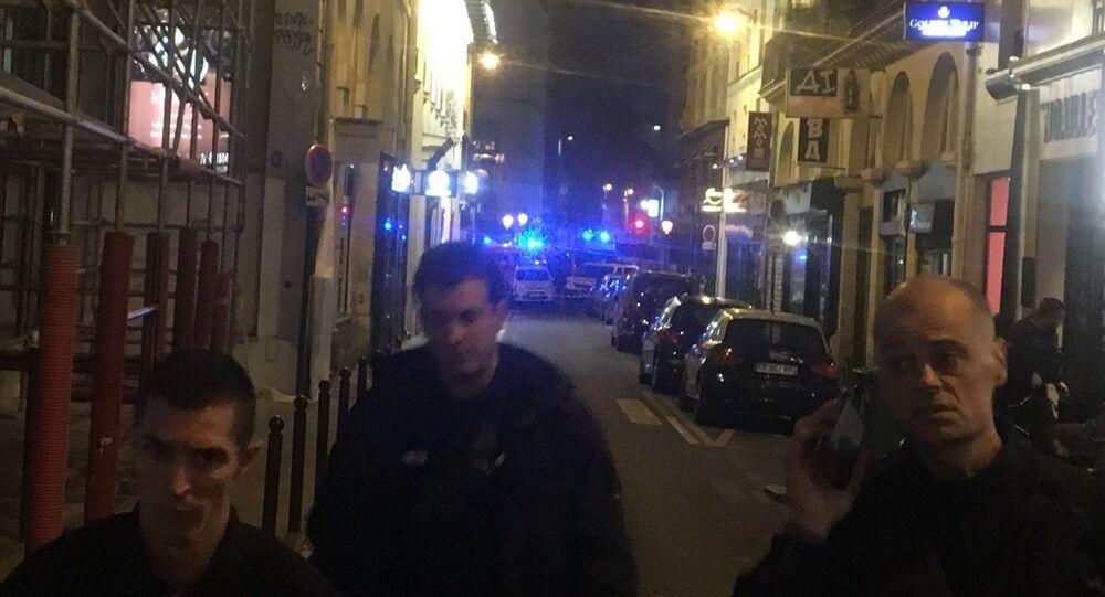 Atak nożownika w Paryżu