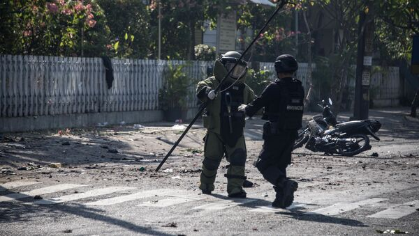 Ataki bombowe na kościoły w Indonezji - Sputnik Polska