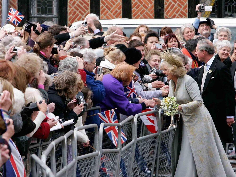 Książę Karol z żoną