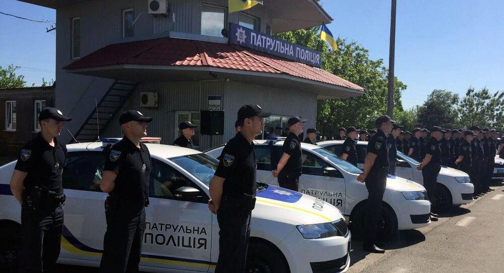 """W obwodzie chersońskim został otwarty oddział """"policji patrolowej na Krymie i w Sewastopolu"""""""