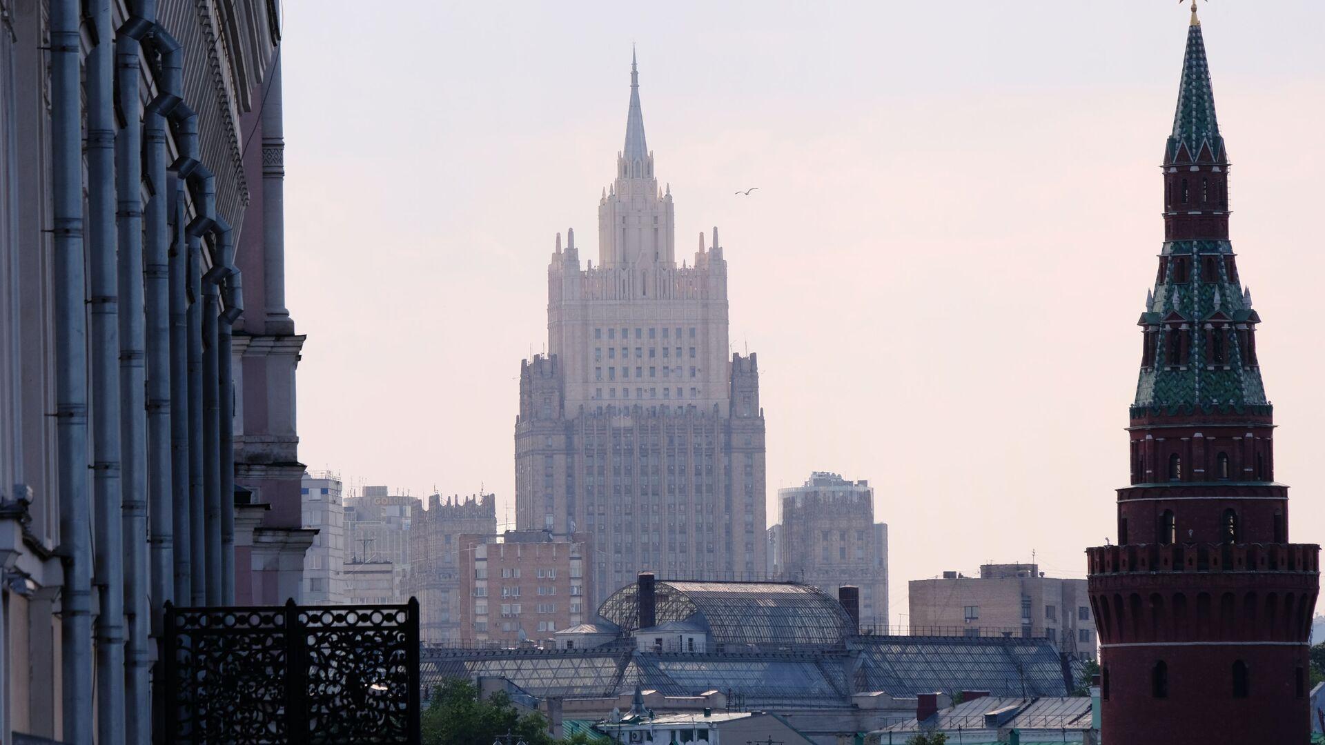 Budynek MSZ Rosji  - Sputnik Polska, 1920, 30.08.2021