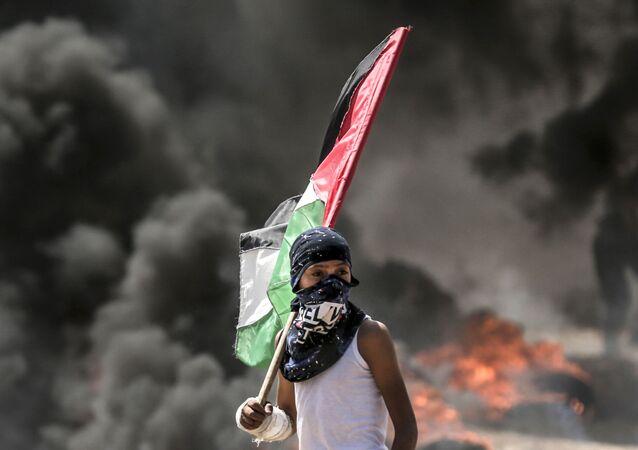Protesty Palestyńczyków na granicach Strefy Gazy przekształciły się w starcia z izraelskimi żołnierzami