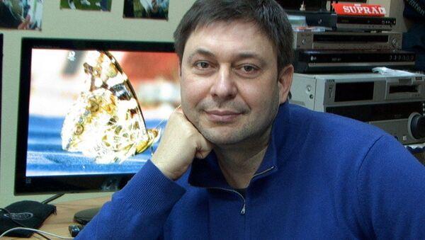 Dziennikarz Kiriłł Wyszynski - Sputnik Polska