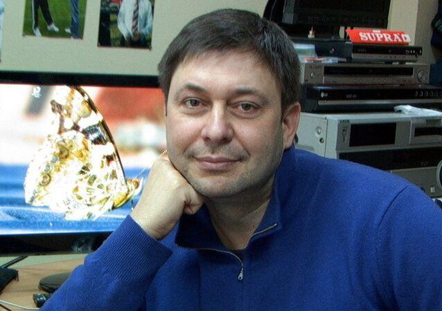 Dziennikarz Kiriłł Wyszynski