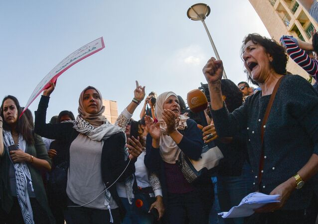 Protesty przeciwko przeniesieniu ambasady USA z Tel Awiwu do Jerozolimy