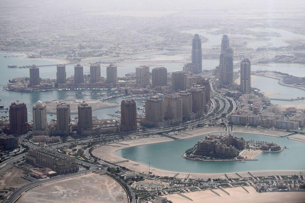 Wieżowce w Doha, Katar