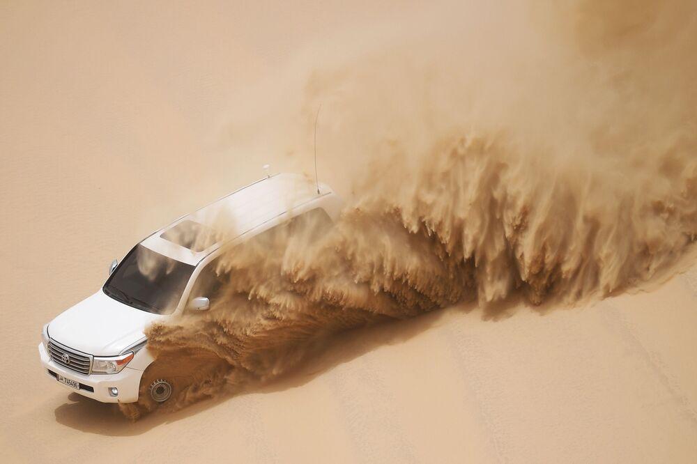Jeep na pustyni Khor Al Adaid w Doha