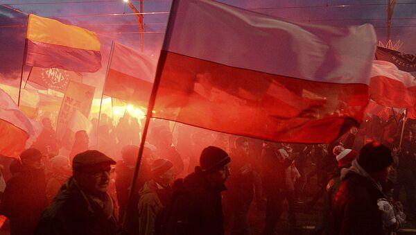 Demonstracja w Warszawie - Sputnik Polska