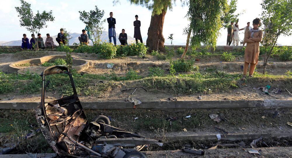 Miejsce wybuchu bomby, Dżalabad