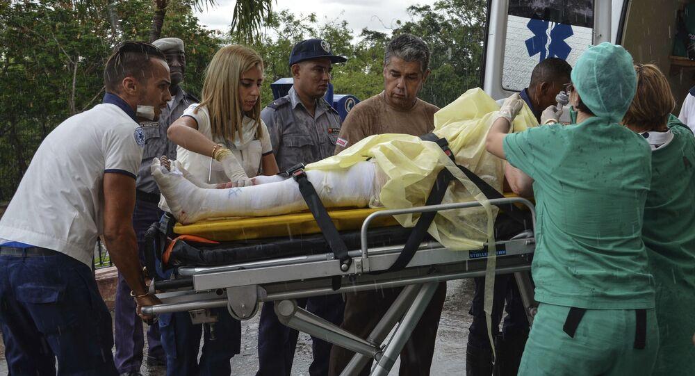 Osoby, które przeżyły katastrofę samolotu na Kubie