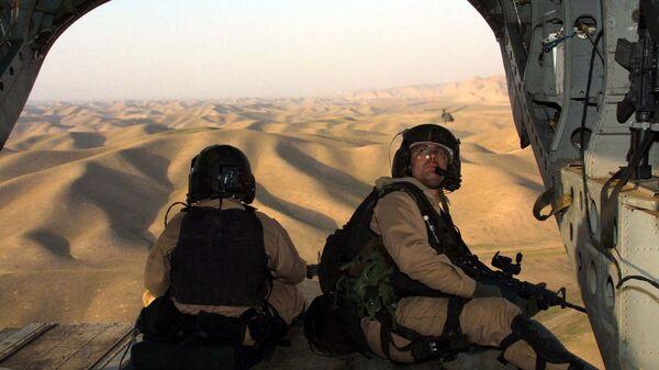 Amerykańscy żołierze w drodze do Afganistanu - Sputnik Polska