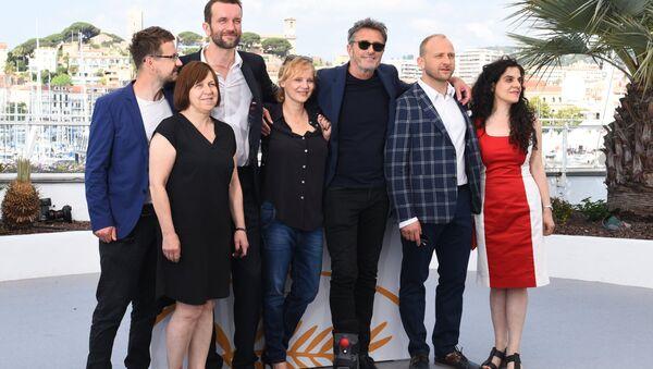 Ekipa filmowa Zimnej wojny na 71. Festiwalu w Cannes - Sputnik Polska