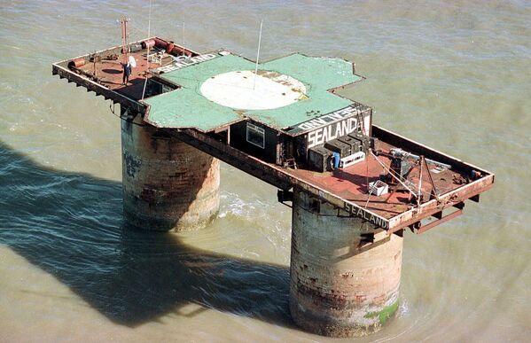 Platforma przeciwlotnicza Fort Roughs w Sealandzie - Sputnik Polska