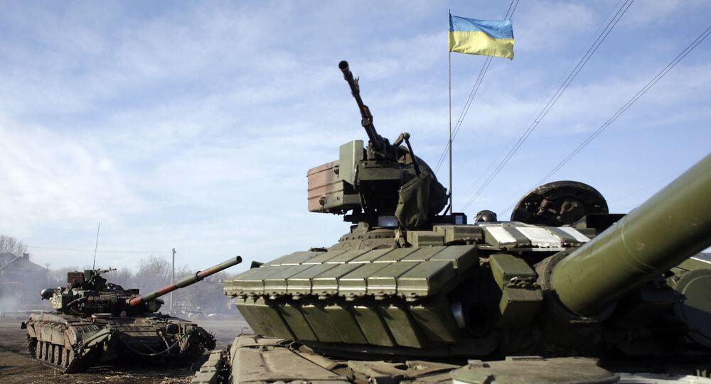 Ukraińscy wojskowi pod Gorłowką