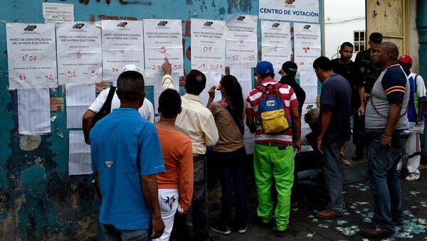 Wybory w Wenezueli - Sputnik Polska