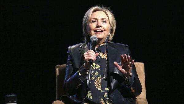 Była kandydatka na urząd prezydenta USA Hillary Clinton - Sputnik Polska