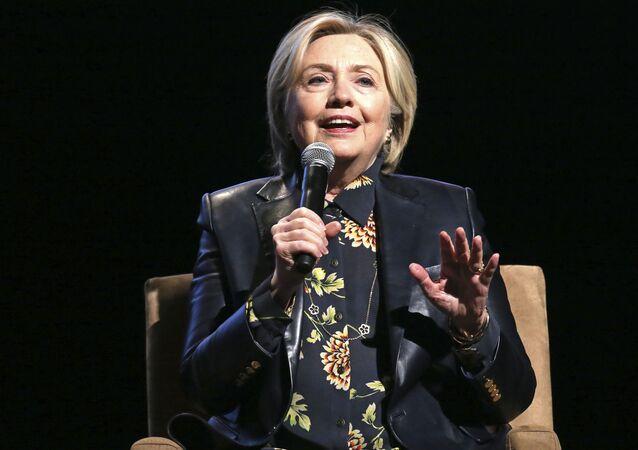Była kandydatka na urząd prezydenta USA Hillary Clinton