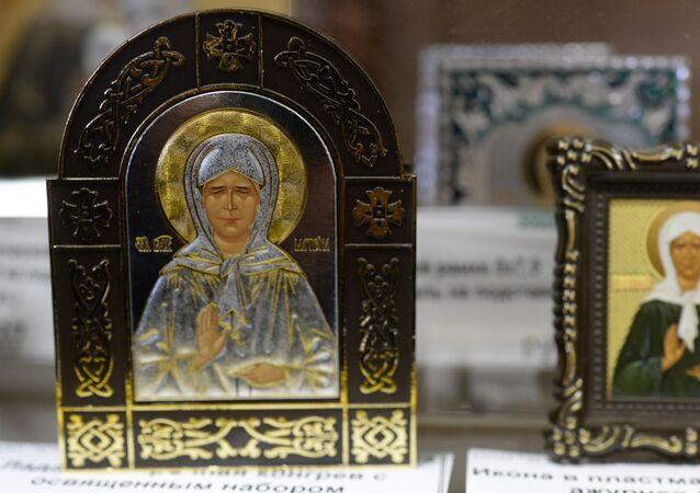 Ikony Błogosławionej Matrony Moskiewskiej